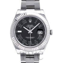 롤렉스 (Rolex) Datejust II Black/Steel Ø41 mm - 116334