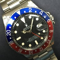 Rolex 1978 Gmt Master 1675 Box And Punched Papers
