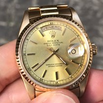 Rolex Day Date Zaffiro Oro Gold president