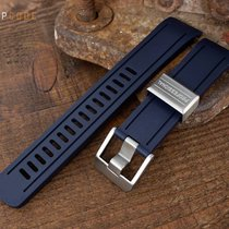 Crafter Blue Watch Band for Seiko SKX007, Navy