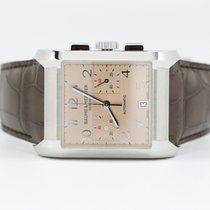 Baume & Mercier Hampton Chronograph Salmon Dial On...