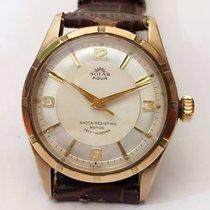 Rolex Tudor Solar Aqua 9K Gold Cal.390 Automatic Mens Watch
