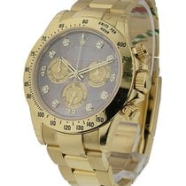 Rolex Unworn 116528 Daytona Cosmograph in Yellow Gold - 116528...