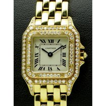Cartier | Panthere Lady, 18 kt yellow gold, bezel and case...