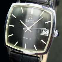 Omega DeVille Automatic Date Vintage Steel Mens Watch 162.025