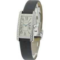 Cartier WB707331 Tank Americaine Small Size - Diamond Bezel -...