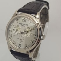 Patek Philippe 5035 Annual Calendar Mens 18K White Gold Watch