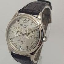 Patek Philippe 5035 Annual Calendar Mens 18K White Gold Watch