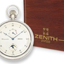 Zenith Pocket watch: high-quality, probably unused Zenith deck...