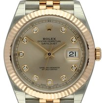 Rolex : Datejust 41 :  126331 :  18k Everose &  Steel :...