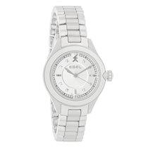 Ebel Onde Series Ladies Diamond Silver Dial Swiss Quartz Watch...