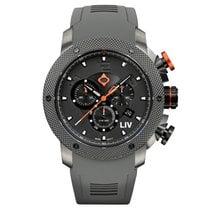 Liv Watches LIV GX1 Swiss Chronograph Gray IP & Gray Numbers...