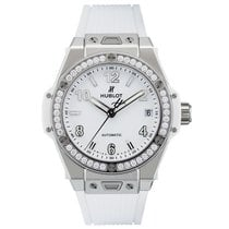 Hublot Big Bang One Click Steel Diamonds 39mm White
