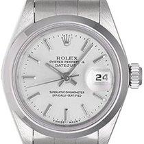 Rolex Ladies Stainless Steel Rolex Date Watch 79160 Silver dial