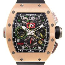 Richard Mille Felipe Massa RM11-02 Rose Gold Black Rubber...