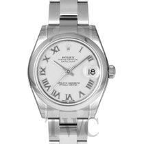 롤렉스 (Rolex) Datejust Midsize White/Steel Ø31mm - 178240