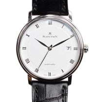 Blancpain Villeret Stainless Steel White Automatic 6223-1127-55A