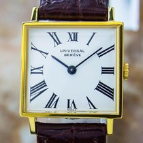 Universal Genève Beautiful Vintage Gold Plated Manual Ladies...