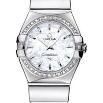 Omega 123.15.24.60.05.002 Constellation 09 Polished Quartz in...