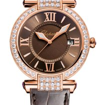 Chopard Imperiale 18K Rose Gold, Amethysts & Diamonds...
