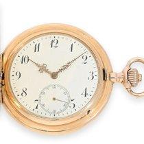 IWC Pocket watch: pink-gold hunting case watch, IWC Schaffhaus...