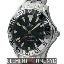 Omega Seamaster 300 M GMT 50th Anniversary Stainless Steel...