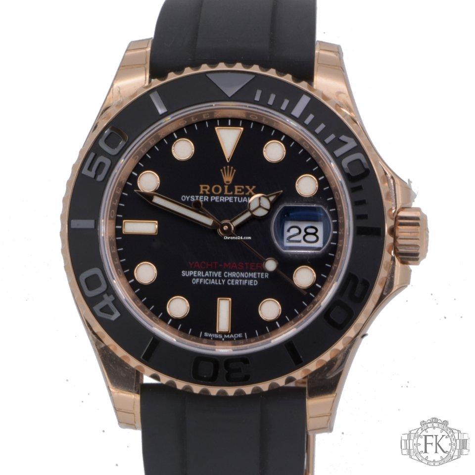 Rolex yachtmaster rose gold chrono24