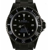 Rolex Used 16600_pvd Oyster Perpetual Sea Dweller - Black DLC...