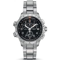 Hamilton Khaki X-Wind GMT Chrono Herrenuhr H77912135