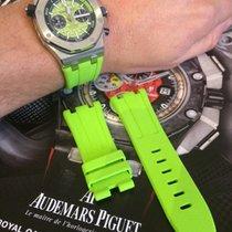 Rubber band for Audemars Piguet Ap Diver green rubber (...