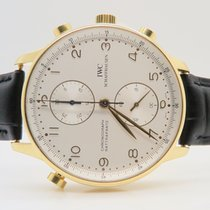 IWC Portuguese Rattrapante 18k Yellow Gold Ref. IW3712...