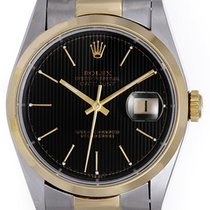 Rolex Datejust Men's 2-Tone Steel & Gold Watch Oyster...