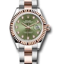 Rolex Unworn 279171OGDO Datejust 28mm Automatic in Steel and...