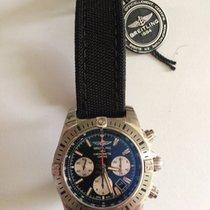 Breitling Chronomat 44 AB01154G/BD13 Steel 2017 Black Dial 44mm