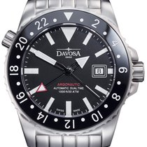 Davosa Swiss Argonautic 16151220 Analog Men Wrist Watch GMT...