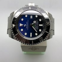 Rolex Sea-Dweller Deepsea Deep Blue James Cameron 116660 B&P