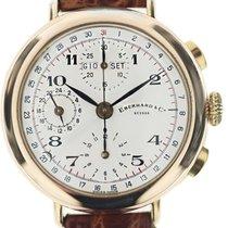Eberhard & Co. Triple Calendar Argento laminato cassa...