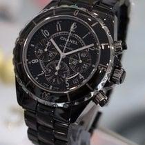 Chanel - J12 41mm Chronograph Black Ceramic H0940