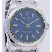 Rolex Milgauss 116400GV Z-BLUE worn once