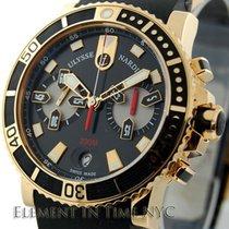 Ulysse Nardin Marine Diver Chronograph Rose Gold 42mm