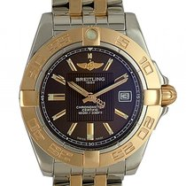 Breitling Galactic Stahl/18kt Roségold Quarz 32mm Stahlband