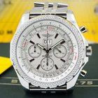 Breitling Bentley 6.75 Silver Dial SS / SS