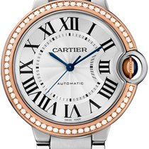 Cartier Ladies Ballon Bleu Automatic 18Kt Rose Gold WE902081