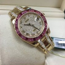 Rolex Cally - 81348 Oyster Perpetual Datejust Pearlmaster 34 YG