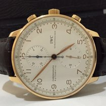 IWC Portuguese Chronograph Ouro Rosé Automatico 2013 Impecavel
