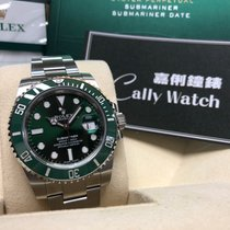 Rolex Cally - 116610LV Submariner Date Ceramic Bezel 66 Green...