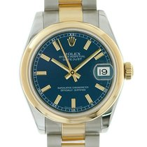 Rolex Medio Datejust acc-oro 05/2009 art. 1270