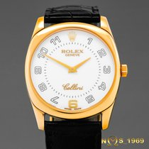 Rolex Cellini Danaos 18K Gold 4233/8 Box & Papers