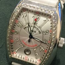 Franck Muller Conquistador factory diamonds