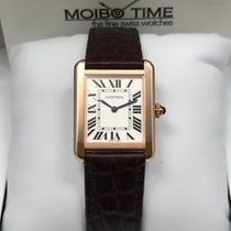 Cartier Tank Solo 18k Rose Gold Small Size [New]
